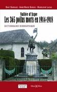 Vallée d'Aspe, les 365 poilus morts en 1914-1918 : dictionnaire biographique