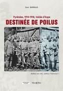 Destinée de poilus, Pyrénées, 1914-1918, vallée d'Aspe : adieu la vie, adieu l'amour !