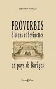 Proverbes, dictons et devinettes en pays de Barèges