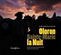 Oloron-Sainte-Marie la nuit